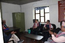 interaction during visit